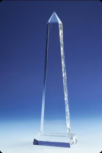 Bryła szklana iglica