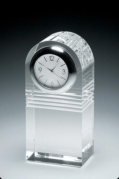 Zegar z kryształu