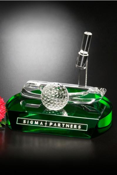 Kryształowa nagroda golfowa
