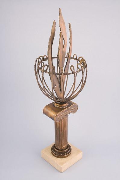 オリンピック聖火のトロフィー