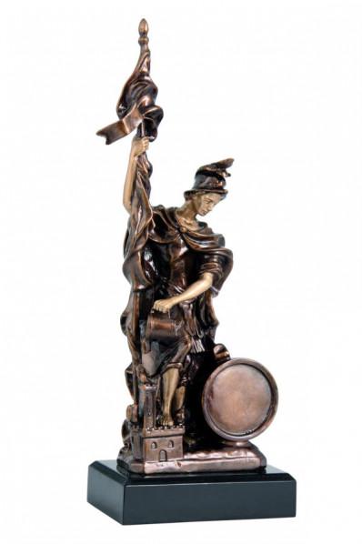 Stylizowana statuetka z żywicy
